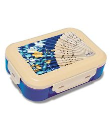 Milton Quick Bite Lunch Box - Deep Blue