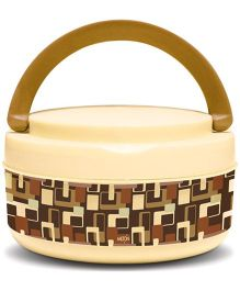 Milton Small Bite Insulated Plastic Lunch Box - Brown