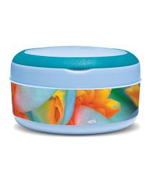 Milton Small Bite Insulated Plastic Lunch Box - Light Blue
