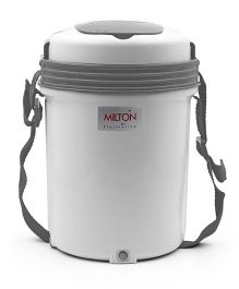 Milton Electron 4 Container Lunch Box Set - White