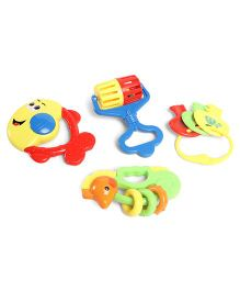 Playmate Rattle Set Multicolor - 5 Pieces