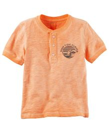 Carter's Henley T-Shirt - Orange