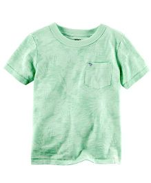Carter's Tonal Floral Graphic Tee - Green