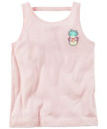 Carter's Pineapple Patch Tank Top - Pink