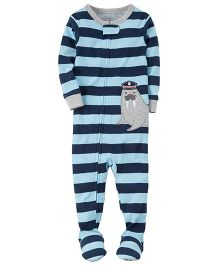 Carter's 1-Piece Snug Fit Cotton PJs - Multi Color