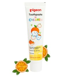 Pigeon Children Toothpaste Orange Flavor 45 gm (Color May Vary)