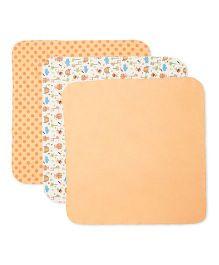 FS Mini Klub Receiving Blanket Pack Of 3 - Multicolor