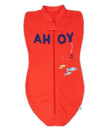FS Mini Klub Swaddle Pod - Orange