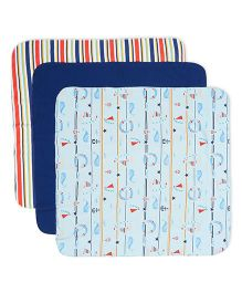 FS Mini Klub Receiving Blanket Pack Of 3 - Multicolor