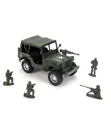 Grv Military Toy Jeep - Green