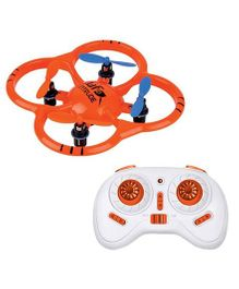 Emob Biomimetic Design Radio Control Mini Quadcopter 6 Axis Gyro Drone - Orange