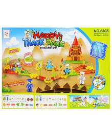Emob Happy Park Train Track Set With Flashing Light And Music - Multi Color
