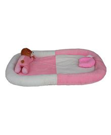 Amardeep Baby Bedding Set Cum Play Mat - Pink