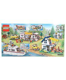 Lego 3 In 1 Creator Building And Construction Set - Multicolr