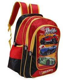 Hot Wheels School Backpack Red - 18 Inches