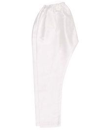 Raghav Cotton Pyjama  - White