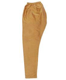 Raghav Silk Pyjama  - Golden
