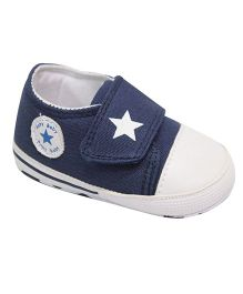 Kiwi Slip On Shoes Style Booties Star Design - Blue