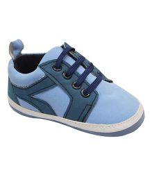 Kiwi Sneaker Style Booties - Blue