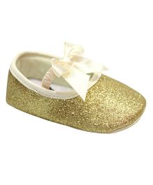 Kiwi Bellies Style Booties With Glitter - Golden