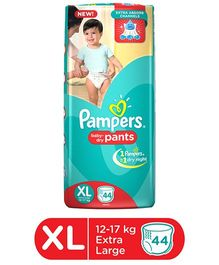 Pampers Pant Style Diapers Extra Large - 44 Pieces