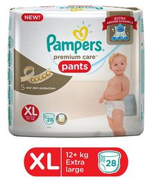 Pampers Premium Care Pant Style Diapers Extra Large - 28 Pieces
