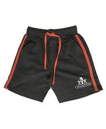 Kiddopanti Shorts With Drawstring - Dark Olive Green