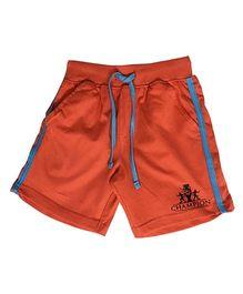 Kiddopanti Shorts With Drawstring - Orange