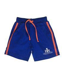 Kiddopanti Shorts With Drawstring - Royal Blue