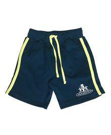 Kiddopanti Shorts With Drawstring - Dark Green