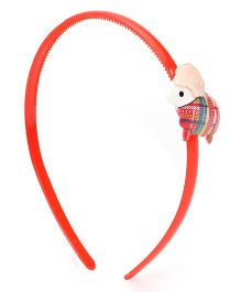 Sugarcart Hairband with Cute Little Sheep - Red