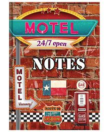Tiara Diaries Designer Motel A5 Size Notebook - 224 Pages
