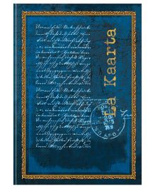 Tiara Diaries Designer Metallic B5 Size Notebook Blue - 224 Pages