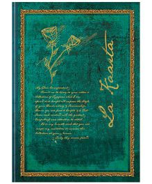 Tiara Diaries Designer Metallic B5 Size Notebook Green - 224 Pages