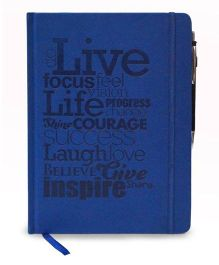 Tiara Diaries Designer Designer De Moda Do Live B5 Size Notebook - 224 Pages