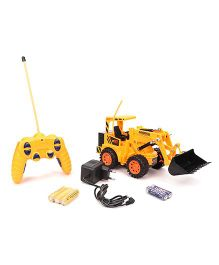 Playmate Remote Controlled Construction Truck Toy - Yellow