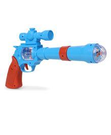 Playmate Pirate Gun With Light And Sound - Blue Dark Orange