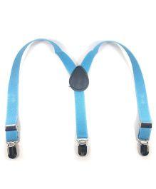 Kidofash Solid Suspenders - Light Blue