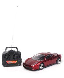 Plalymate Remote Control Car - Maroon