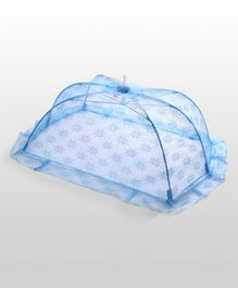 Babyhug Star Design Mosquito Net Large - Sky Blue