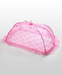 Babyhug Star Design Mosquito Net Medium - Pink