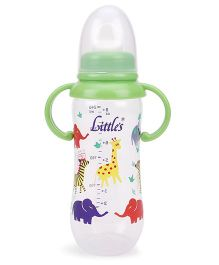 Little's Royal Maxi Feeding Bottle 240 ml - Green (Color May Vary)