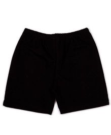 Pikaboo Solid Color Shorts - Black