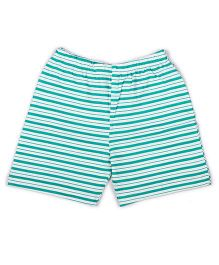 Pikaboo Shorts Stripes Print - Green