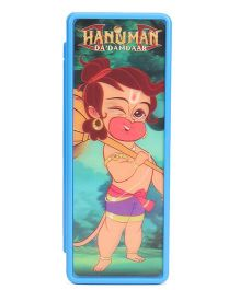 Hanuman Da Damdaar 3D Recticular Pencil Box - Blue