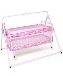 New Natraj Sleep Well Cradle Pink - 031