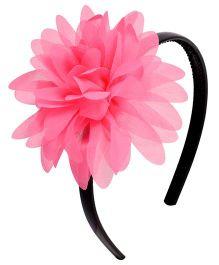 Miss Diva Classy Flower Soft Hairband - Magenta