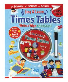 Sing & Learn Times Tables (With CD) - English