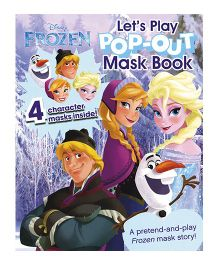 Disney Frozen Lets Play Pop Out Mask Book  - English