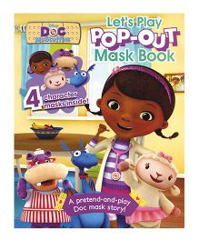 Disney DOC McStuffins Lets Play Pop Out Mask Book - English